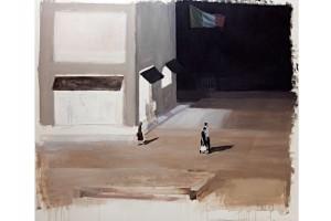 'strada',-olio-su-carta-intelata,-cm-150X140,-2010